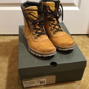 Timberland Womens 8.5 Conant 6in Wheat Boots A12BY